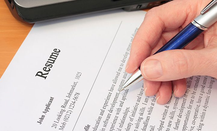 Choosing the Most out of the resume build websites