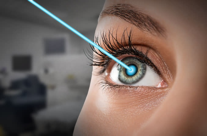 For instant improvement in eyesight go with LASIK:
